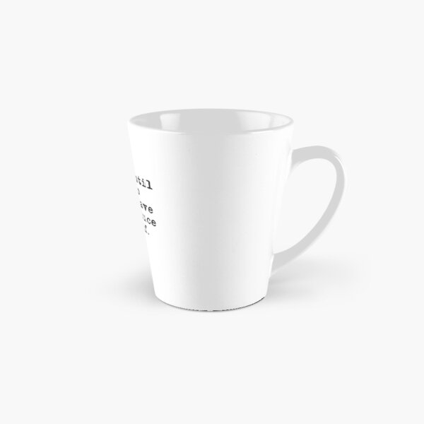 Hustle until you no longer have to introduce yourself. Tall Mug