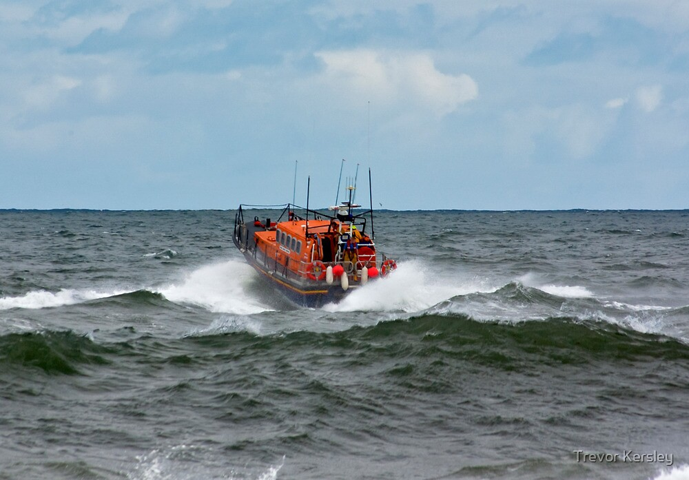 "RNLI Lifeboat - ""Grace Darling"" by Trevor Kersley"