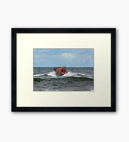 "RNLI Lifeboat - ""Grace Darling"" Framed Print"