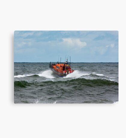"RNLI Lifeboat - ""Grace Darling"" Canvas Print"