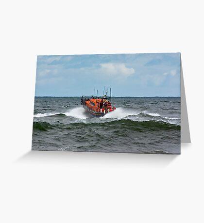 "RNLI Lifeboat - ""Grace Darling"" Greeting Card"