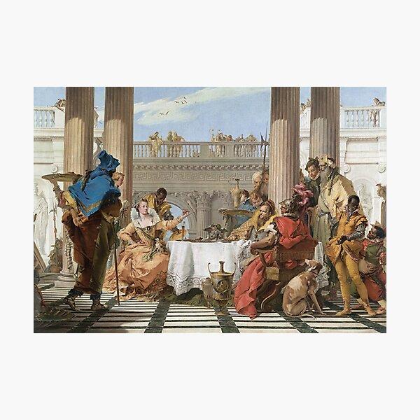 The Banquet of Cleopatra - Giovanni Battista Tiepolo Photographic Print
