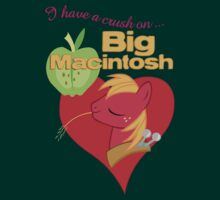 I have a crush on... Big Macintosh - with text
