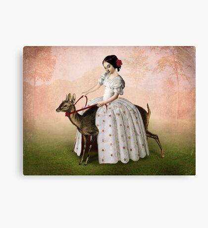 Ride at Dawn Canvas Print