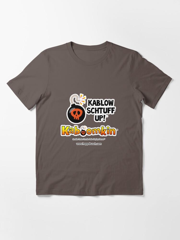 Alternate view of Kaboomkin RPG - Kablow Schtuff Up! Essential T-Shirt