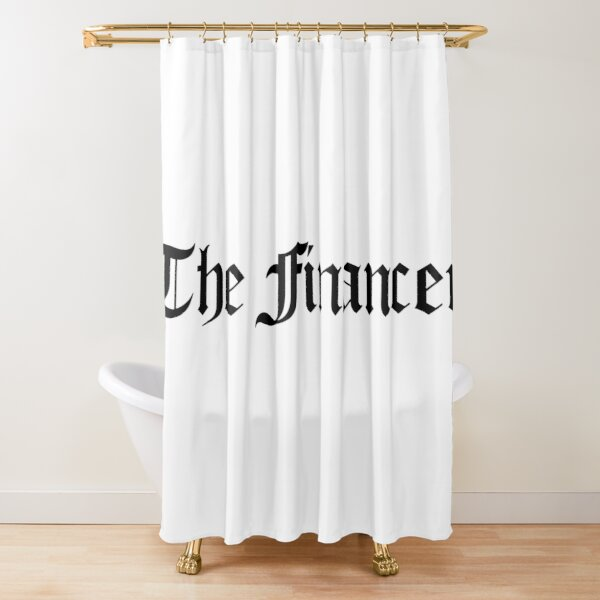 The Financer Official Shower Curtain