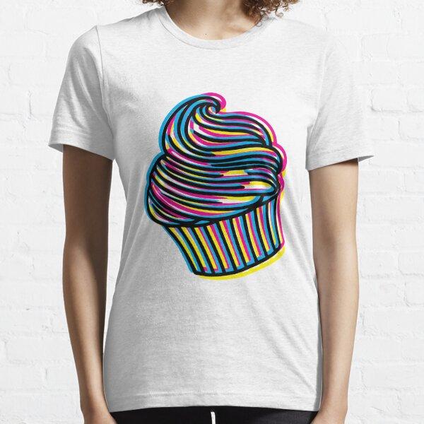 CMYK Cupcake Essential T-Shirt