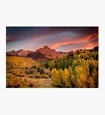 Sneffels Sunset Photographic Print