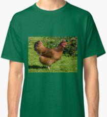 brown Rhode Island Red hen Classic T-Shirt