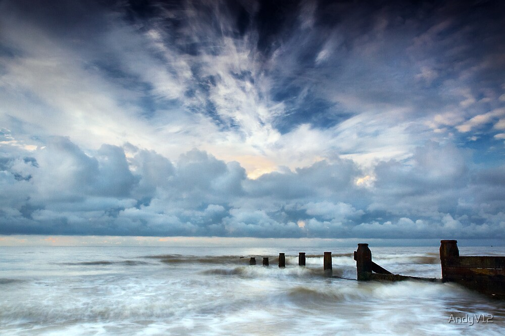 Dramatic Daybreak II by Andy Freer