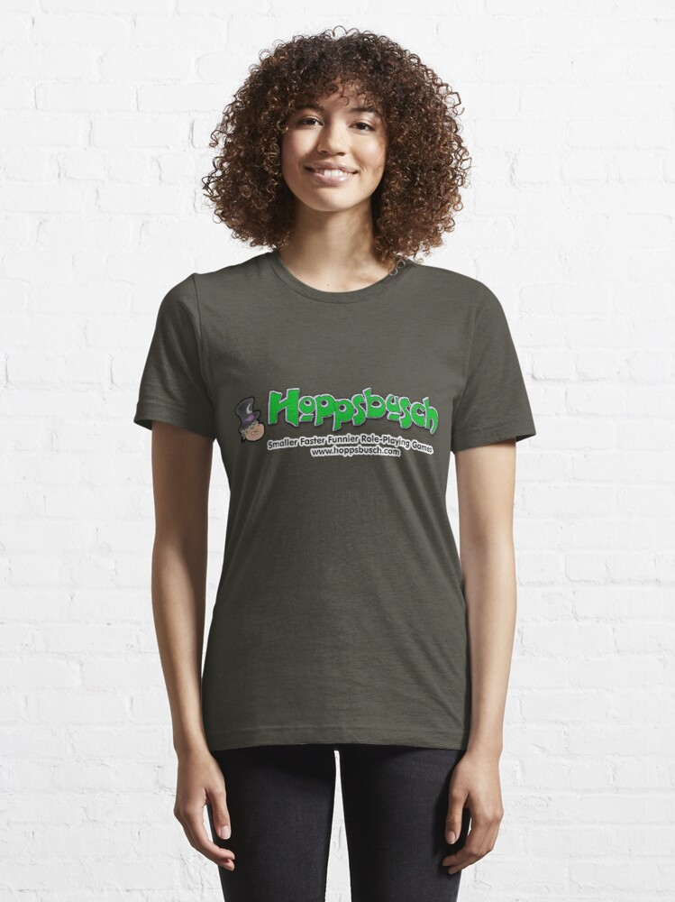 Alternate view of Gereko Hoppsbusch - Our Hero Essential T-Shirt