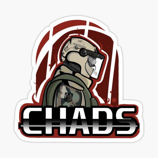 """""""CHADS"""" Graphic Logo Sticker"""