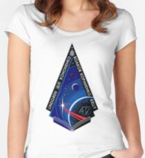 Expedition 45 Mission Patch Women's Fitted Scoop T-Shirt