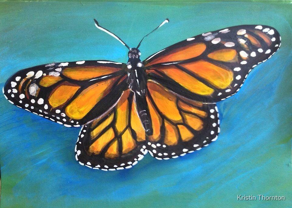 Monarch Butterfly by Kristin Thornton