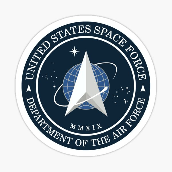 US Space Force Official Logo Sticker