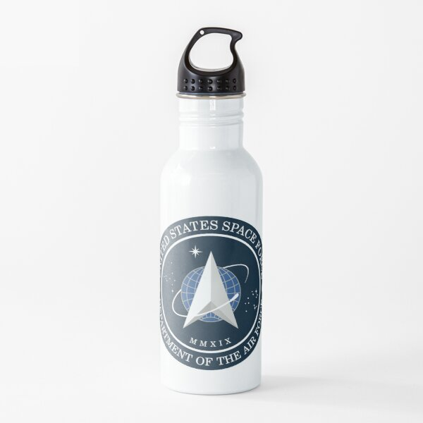 US Space Force Official Logo Water Bottle
