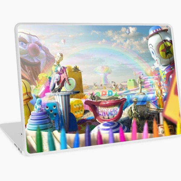 Clown Wasteland - trippy, surreal art Laptop Skin
