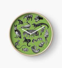 Biodiversité de l'Amazonie Horloge