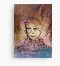 Abstract Stannis Baratheon  Canvas Print