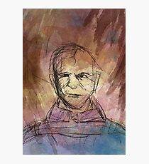 Abstract Stannis Baratheon  Photographic Print