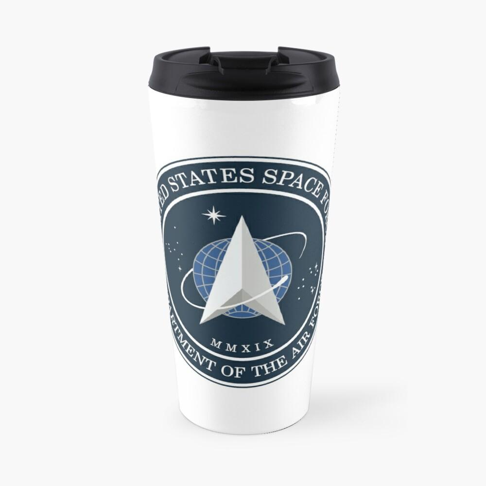 United States Space Force logo Travel Mug