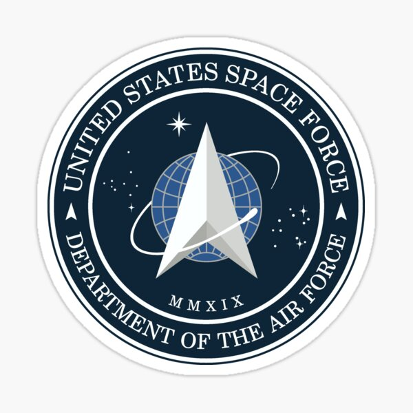 United States Space Force logo Sticker