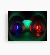 Multicoloured passages - Levity III  Canvas Print