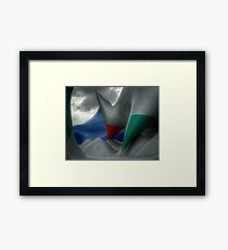 Levity III - external view Framed Print