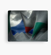 Levity III - external view Canvas Print