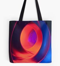 Shapes and Curves - Inside Levity III Tote Bag