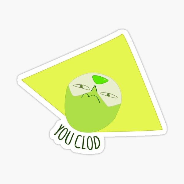 You Clod! Peridot - Steven Universe. Sticker