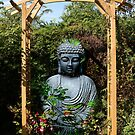 Garden Buddha - Belgium by Gilberte