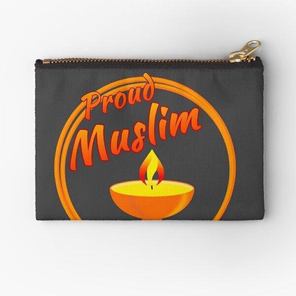 Proud Muslim Zipper Pouch