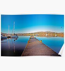 Jetty - Lake Windermere  Poster