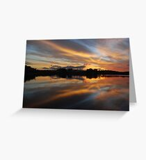 Tales of Sunset Greeting Card