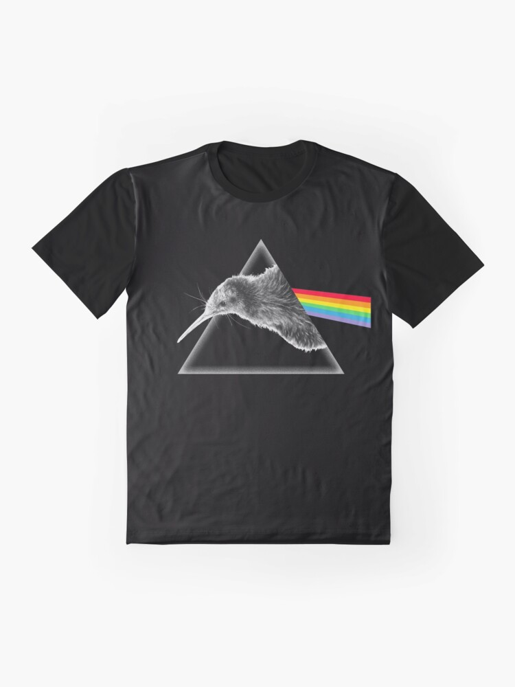 Alternate view of The Kiwi Side of Rock Graphic T-Shirt