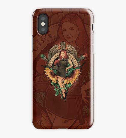 The Girl Who Waited iPhone Case