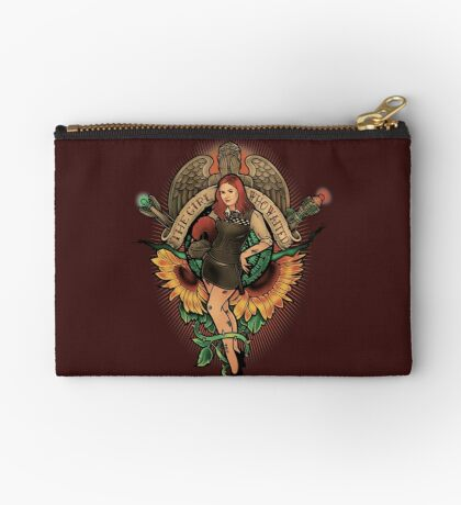 The Girl Who Waited Studio Pouch