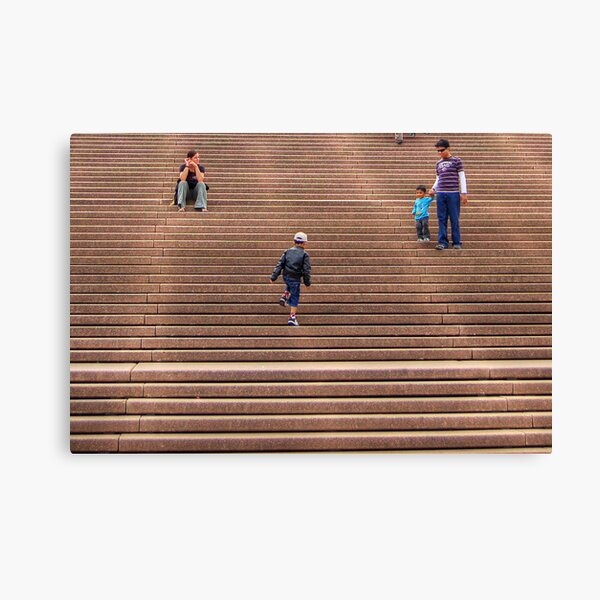 Opera House Stairs Canvas Print