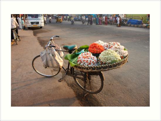 The Gajra Seller by iamakshay
