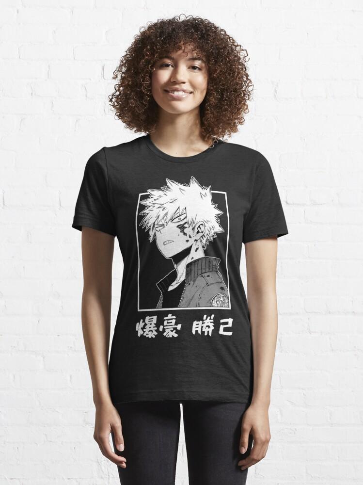 Alternate view of Katsuki Bakugo Kacchan [My Hero Academia] Essential T-Shirt