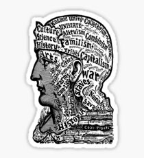 Sivartha Historia Mind Map 1860 Sticker