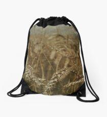 Wheat Field Drawstring Bag