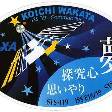 Expedition 39 - Wakata Commander Patch by Spacestuffplus