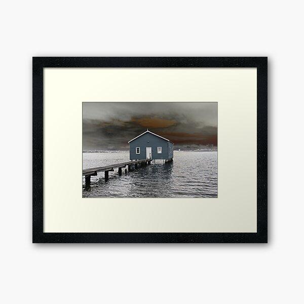 Crawley Boatshed Framed Art Print