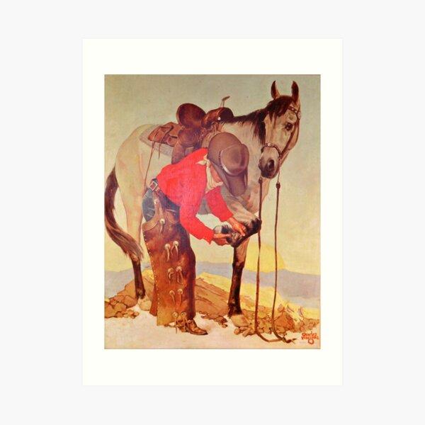 Charles Hargens Stetson Hat Advertisement Art Print