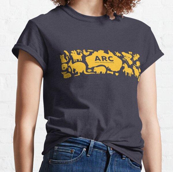 ARC Animals across Australia - in yellow Classic T-Shirt