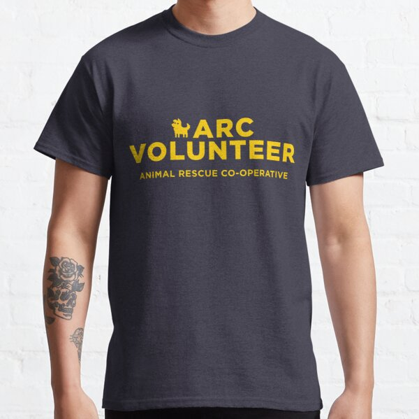 ARC Volunteer - yellow type Classic T-Shirt