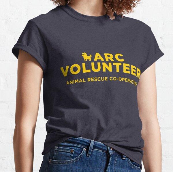 ARC Volunteer - yellow type Classic T-Shirt