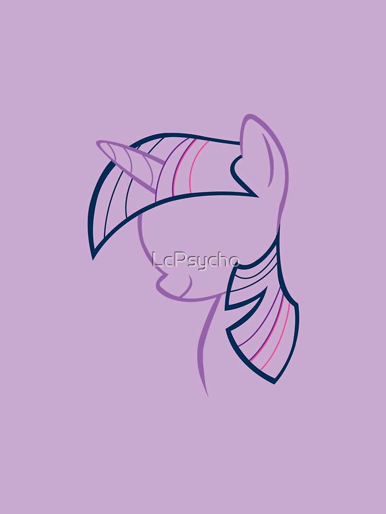 TwilightSparkle Outline by LcPsycho